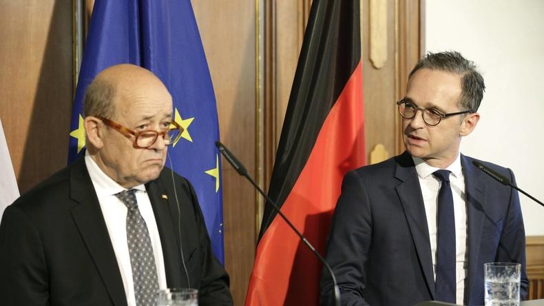 Heiko Maas erklärt Frankreich Sinn und Zweck des Mauerfalls