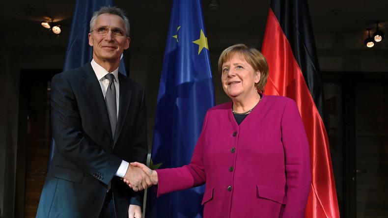 LIVE: Berlin - Kanzlerin Merkel und NATO-Generalsekretär Stoltenberg geben Pressekonferenz