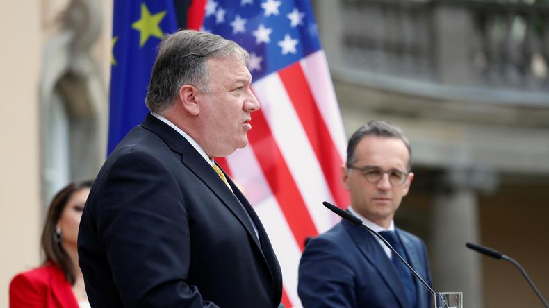 LIVE: Leipzig – Außenminister Maas und US-Amtskollege Pompeo geben Pressekonferenz