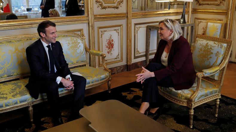Frankreich: Präsident Macron übernimmt Le Pens Positionen (Video)