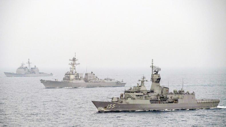 """US-geführte Marinekoalition zur """"Sicherung"""" der Straße von Hormus eröffnet Zentrale in Bahrain"""
