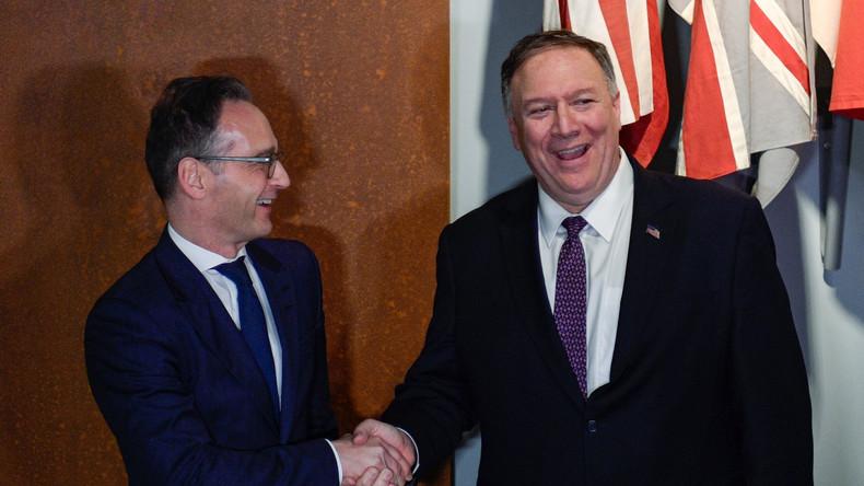 Höchste Sicherheitsstufe: US-Außenminister Pompeo in Leipzig (Video)