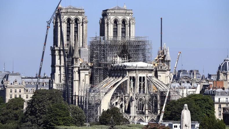 Frankreich nimmt Russlands Hilfe bei Wiederaufbau von Notre-Dame an