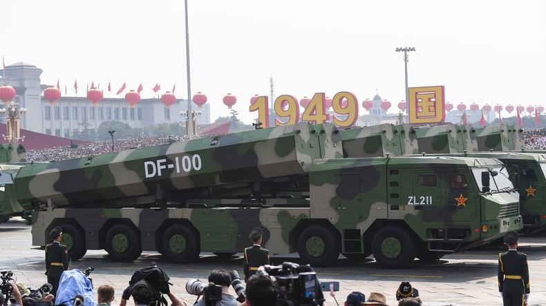 China: Unsere Raketen gefährden die USA nicht - außer sie bringen ihre Raketen zu nah an uns heran