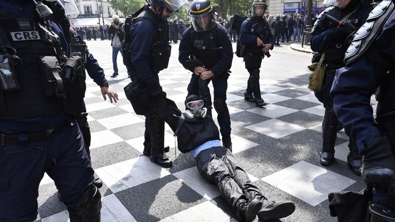 Le Monde: Polizei hat seit November 2018 mehr als 10.000 Gelbwesten festgenommen