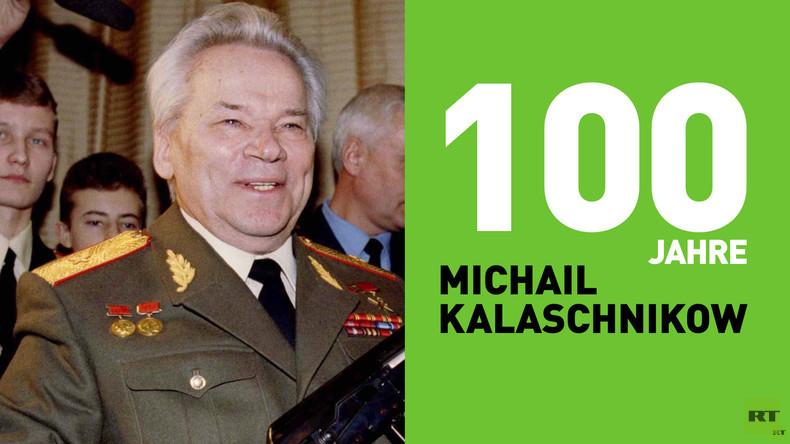 100 Jahre Michail Kalaschnikow und 72 Jahre Sturmgewehr AK-47