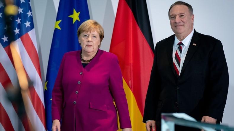 """Berlin: Mike Pompeo nennt Russland und China """"Bedrohung für die Freiheit"""""""