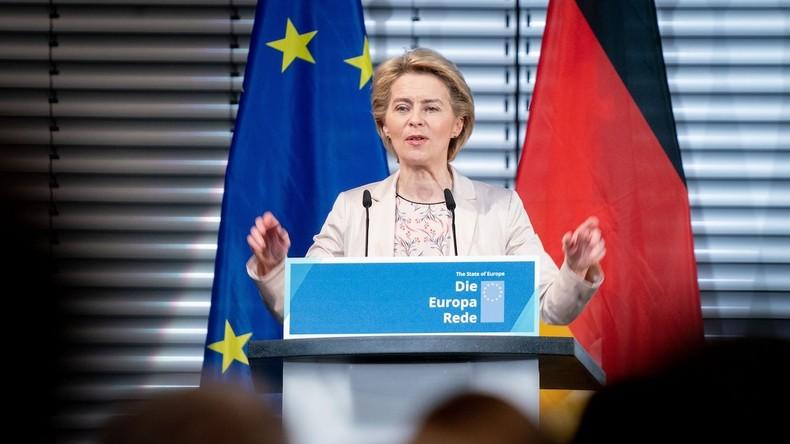 Von der Leyen: Die EU muss die Sprache der Macht lernen