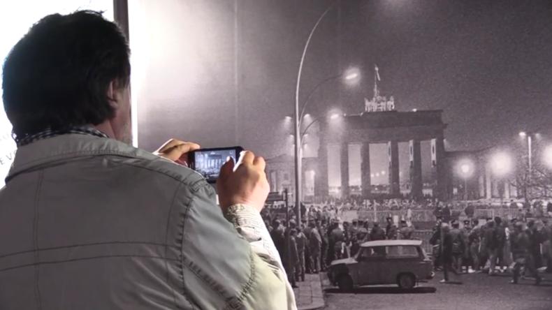 Jahrestag des Mauerfalls: Berliner teilen ihre Gedanken mit