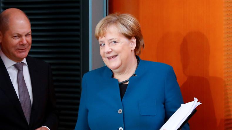 Merkel bespricht mit Unionsseite Lage im Grundrentenstreit