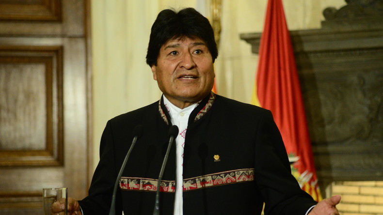Bolivien: Präsident Evo Morales kündigt seinen Rücktritt an