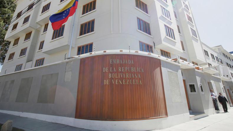 Bolivien: Bewaffnete dringen in Venezuelas Botschaft ein – Diplomaten geflohen