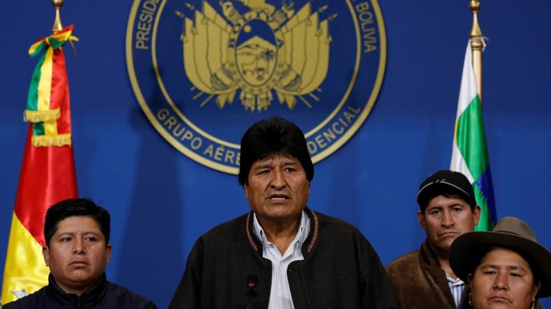 Bolivien: Rücktritt oder Putsch? (Video)