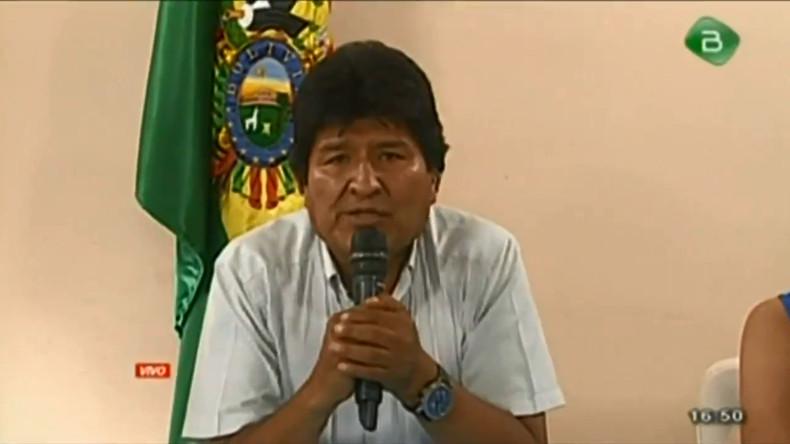Nach Putsch: Morales erhält in Mexiko Asyl