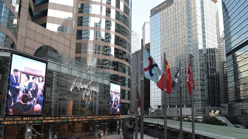 Hongkonger Behörden: Banken und Börse arbeiten trotz Protesten wie gewohnt