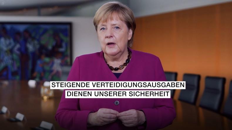 """""""Wo Konflikte herrschen, dient sie unseren Interessen"""" – wie Angela Merkel der Bundeswehr gratuliert"""