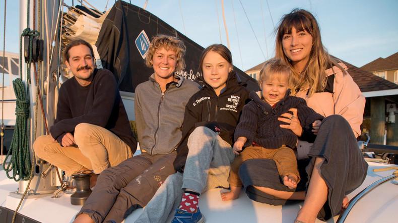 Mitfahrgelegenheit gefunden: Greta Thunberg segelt auch zurück nach Europa