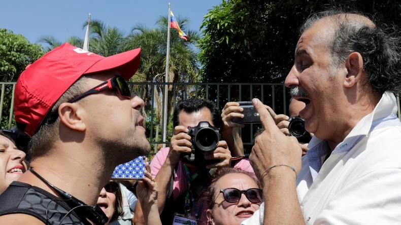 Venezolanische Oppositionelle greifen Botschaft in Brasilien an