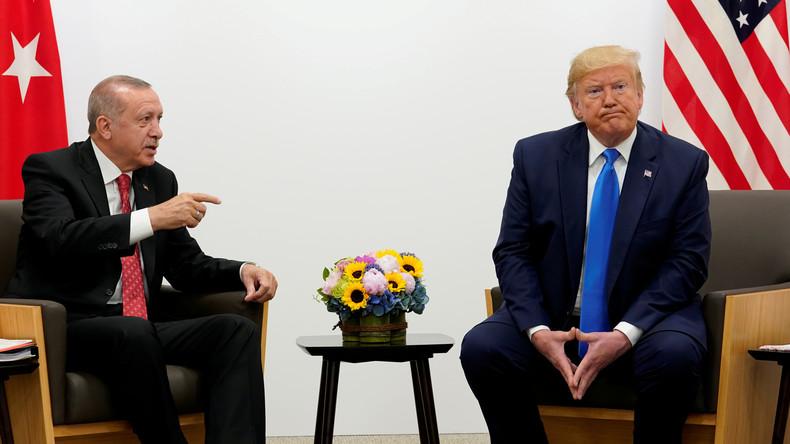 Brisantes Treffen mit Trump: Erdoğan zu Gesprächen in Washington (Video)