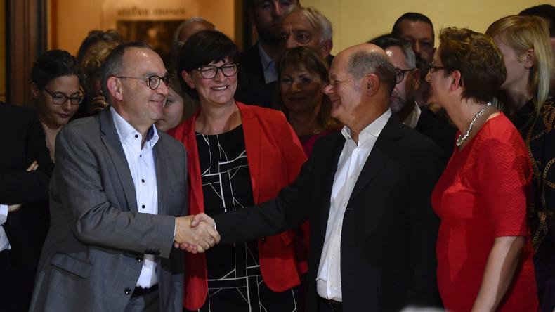 Schummelei im SPD-Führungswahlkampf: Wikipedia-Artikel von Scholz und Geywitz geschönt