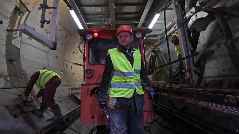 Russland und China gründen Joint Venture für den Bau von U-Bahnen, auch weltweit