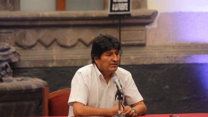 """Morales zu Bolivien: """"Wie zu Diktaturzeiten stehen nun wieder Panzer auf den Straßen"""""""
