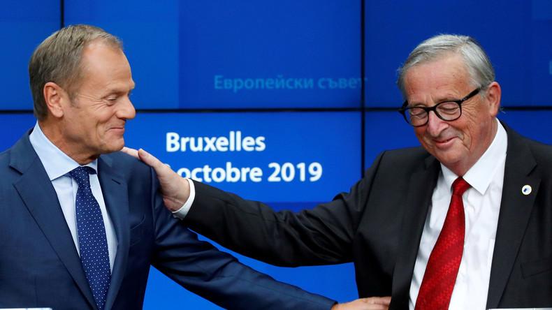 Schluss nach fünf Jahren: Abschiedsworte von EU-Ratspräsident Tusk