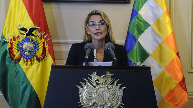 Bolivien: Moskau will bis Wahlen mit Jeanine Áñez zusammenarbeiten