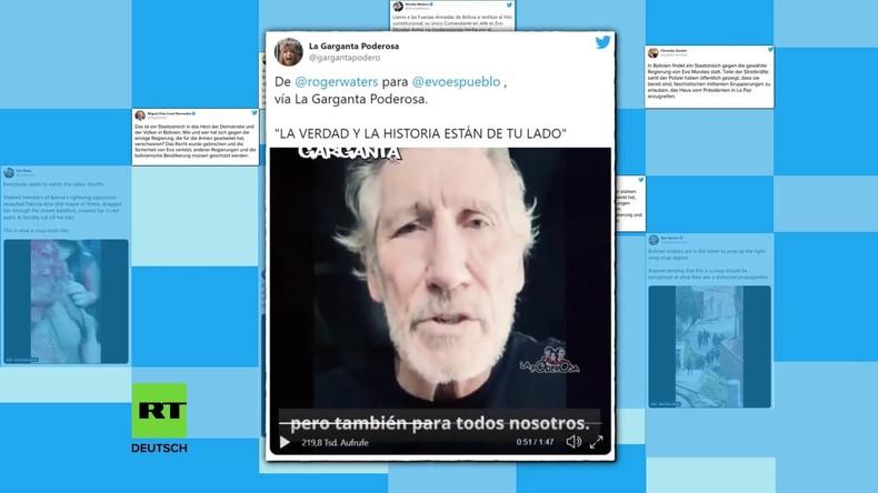 Staatsstreich gegen Morales: Was Regierungen aus aller Welt dazu sagen (Video)