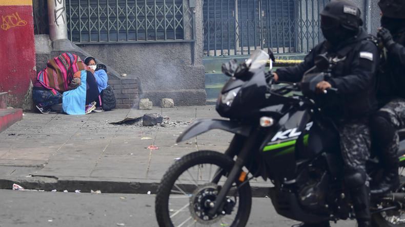 Bolivien: Anhänger von Morales gehen auf die Straße (Video)