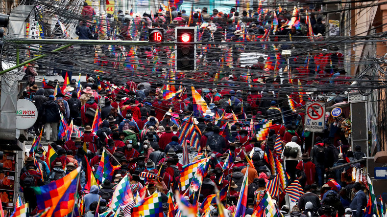 Bolivianische Gewerkschaften rufen zu landesweitem Streik auf (Video)