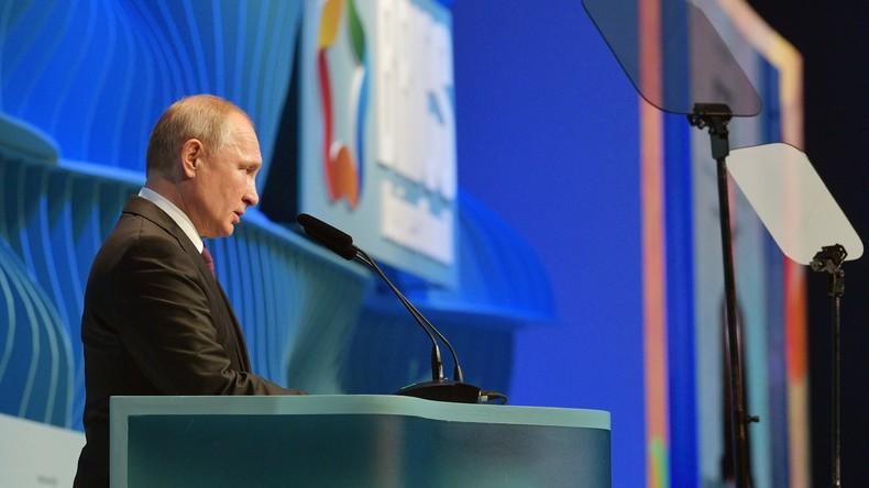 Putin: Russlands Handel mit BRICS-Staaten übersteigt 125 Milliarden US-Dollar