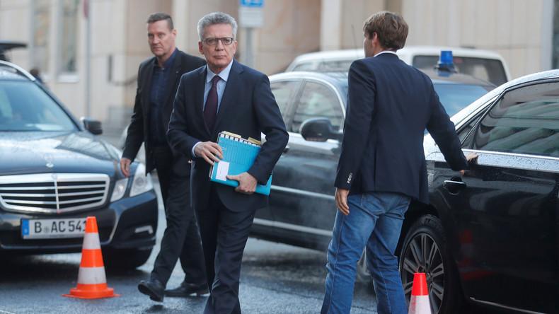 Untersuchungsausschuss: Unterband Innenminister de Maizière persönlich Ermittlungen zu Anis Amri?