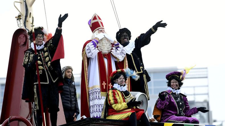 Proteste bei Nikolaus-Ankunft in den Niederlanden