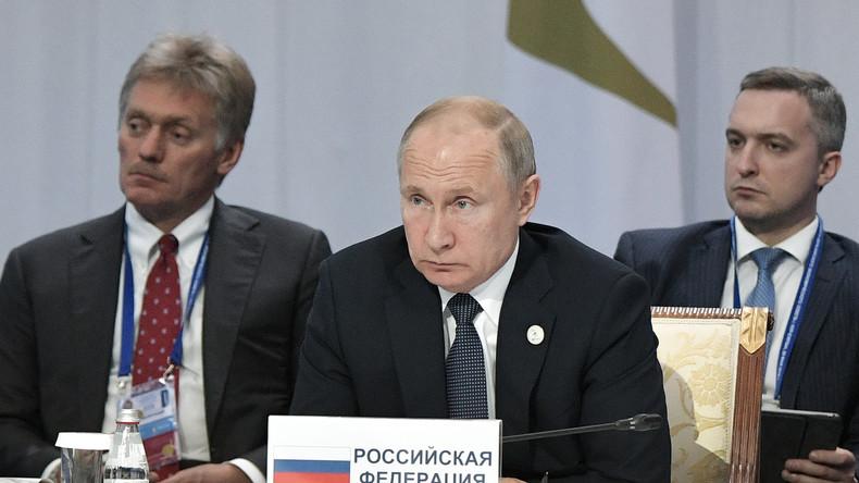 Russland: Es ist inakzeptabel, anderen Ländern sein eigenes Wertesystem aufzuzwingen
