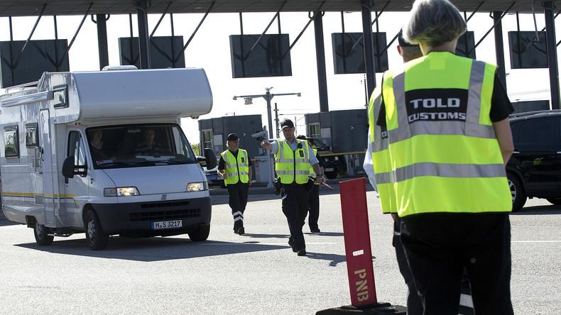 Dänemark führt Grenzkontrollen an Grenze zu Schweden ein (Video)