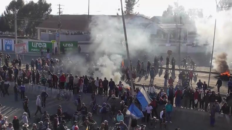 Bolivien: Krise spitzt sich zu – Zusammenstöße, Lebensmittelknappheit und heftige Preisanstiege