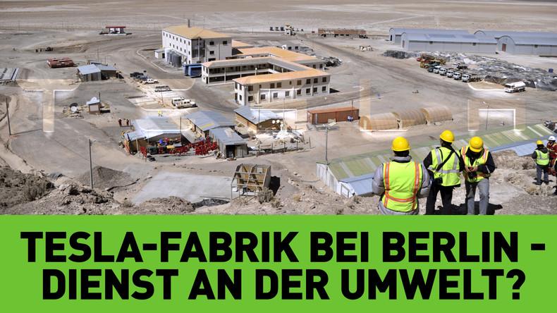 Tesla-Gigawerk bei Berlin: Fabrik für Elektrofahrzeuge – ein Dienst an der Umwelt?