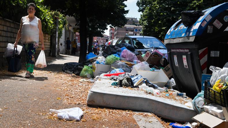 Italien schickt 7.000 Tonnen Hausmüll nach Österreich