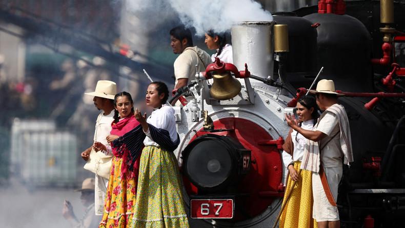 Mexiko: Militärparade anlässlich des 109. Jahrestages der Mexikanischen Revolution