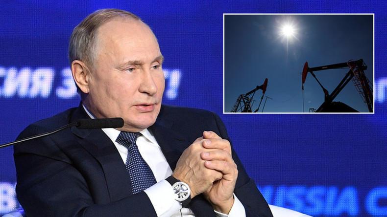 """Putins Geheimplan: """"Die modernste US-Technologie zur Erdölgewinnung abwarten und sie dann schnappen"""""""