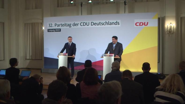 """CDU-Chef """"ohne Groll"""", nachdem Greenpeace-Aktivisten das """"C""""vomParteizentrumentwendet haben"""