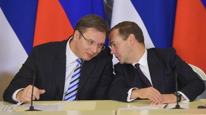 Serbischer Präsident Vučić kommentiert angebliches russisch-serbisches Spionagevideo