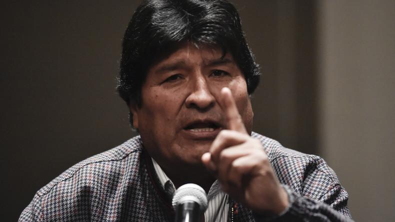 """Evo Morales: """"Die Putschisten wollten mich umbringen"""""""