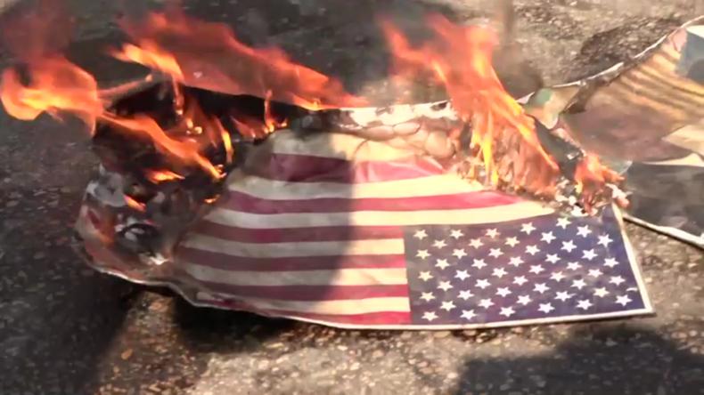 Libanon: Demonstranten protestieren vor US-Botschaft gegen ausländische Einmischung