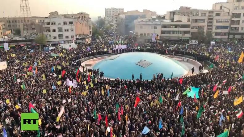 LIVE: Pro-Regierungs-Demonstration in Teheran