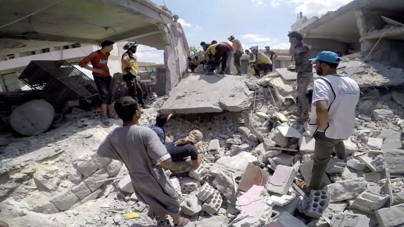 Moskau: Weißhelme planen Inszenierung von Chemiewaffeneinsatz im syrischen Idlib