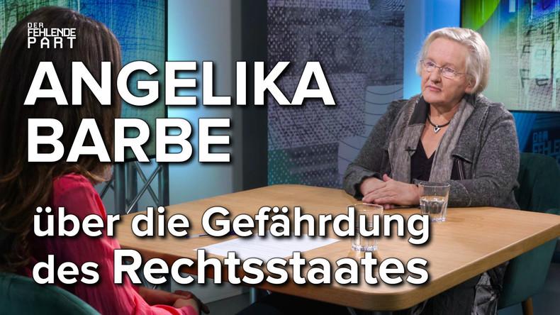 """""""Merkel agiert wie eine Mafia-Patin"""" – DDR-Dissidentin Angelika Barbe im Gespräch"""