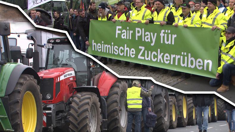 Bauerndemo in Berlin: Trecker verstopfen die Straßen – Ministerinnen ausgebuht (Video)