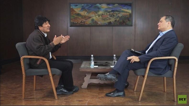 """Evo Morales im Exklusiv-Interview: """"Lithium war ein wichtiger Faktor beim Staatsstreich"""""""